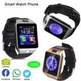 Bluetooth 3.0 intelligentes Uhr-Telefon mit SIM Einbauschlitz (DZ09)