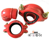 Ductile standard Iron Grooved Estremità Cap con FM/UL Approval
