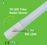 tubo de 9W 900lm 0.6meter T8 LED con el sensor de radar y con el Ce RoHS