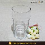vaso del vidrio del claro de la textura 500ml