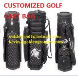 De Zak van de Golfclub van de Zak van het Golf van de reis met het Ontwerp van het Borduurwerk