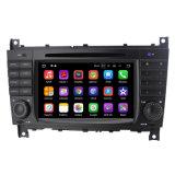 Percorso radiofonico dell'automobile DVD GPS dello schermo di tocco per il benz di Mercedes