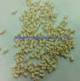 Al2O3 Alumina Oogje van het Oxyde van het Aluminium het Ceramische Van een flens voorzien