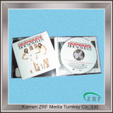 DVD репликации в лоток для дисков с Slipcase упаковки с