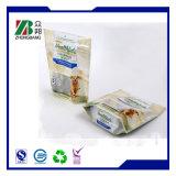 Kundenspezifischer Plastikfolien-Haustier-Hundenahrungsmittelpaket-Beutel mit vorderem Fenster