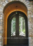 特有な手造られた鉄の出入口の前ドアデザイン