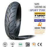 El sur de la motocicleta del neumático del deporte de América parte el neumático 130/70-16 de la motocicleta del neumático de la motocicleta de la moto