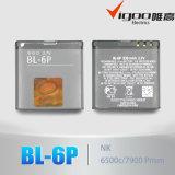 Батарея мобильного телефона главного качества для Nokia Bl-6p