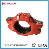 Accouplement flexible FM/UL de Soulever-Rendement Grooved malléable de fer reconnu