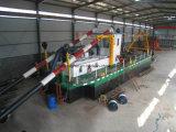 砂鉱山のためのISOの証明書のカッターの吸引の浚渫船