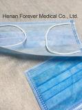 Больничная одноразовая хирургическая маска для лица (ушная петля) Хирургическое платье