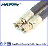 Tuyau tressé à haute pression de fil d'acier d'en 853 2st/2sn