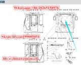La carrozza di Sdlg LG936 LG938 LG956 LG958 LG968 parte il vetro 4190000943 del parabrezza anteriore