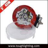 5-дюймовый 45W круглый красный/черный кри индикатор движения рабочего освещения