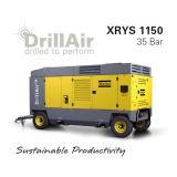 Atlas Copco X1300 accionadas por motor Diesel compresor de aire de tornillo portátil