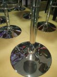 Metal Baseの木のRound Coffee Table