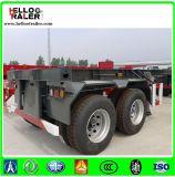 2 de Semi Aanhangwagen van de Container van de Container Chassis/20FT van het Skelet van de as