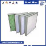 Filtro de painel de eficiência primária para limpeza de ar