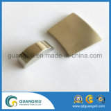 3cm quadratischer Magnet mit dem zwei Loch-starken quadratischen Magneten