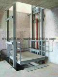 Plataforma do elevador hidráulico de elevação para o depósito de mercadorias