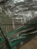녹색 회색 PE 방수포 장, PE 방수포 덮개
