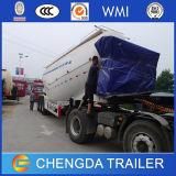3개의 차축 판매를 위한 대량 시멘트 유조 트럭 트레일러