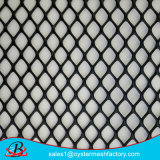 Acoplamiento de alambre plano plástico del orificio hexagonal del color verde