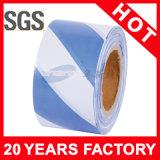 Лента PE голубая и белая предупреждающий (YST-WT-015)