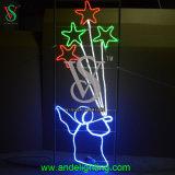 Luz ao ar livre do diodo emissor de luz da decoração do Natal para a venda