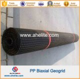 Pp. Biaxial Geogrid mit Aperture Dimensions 34mmx35mm