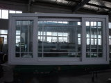 Kundenspezifisches große Schuppe Belüftung-schiebendes Fenster mit örtlich festgelegtem Schärpe-und Gitter-Entwurf