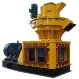 1.5 T / H a 90kw alimentación prensa de pellet de madera peletizadora 5.3T Anillo Vertical morir