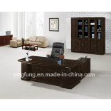 Wooden Luxury Executive Office computer Desk with simmers Table YF-3218