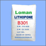Inkt Zns 28% van het Pigment van het lithopoon B301 de Witte