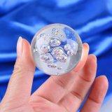 El nuevo Popular hermoso colorido 3D bola de cristal con burbujas en el interior