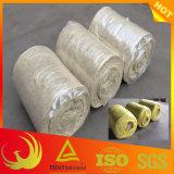 Thermische Wärmeisolierung-Material-Basalt-Felsen-Wolle-Zudecke für großformatiges Rohr und Becken