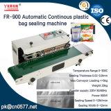 Macchina continua di sigillamento della fascia del sacchetto di plastica di Fr-900automatic per Yougrt