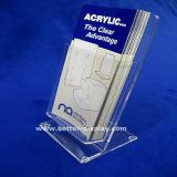 Custom прозрачный пластиковый A4 акриловый подставка для дисплея