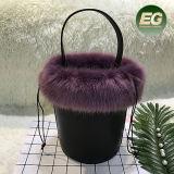 Sacchetto casuale della donna della nuova di stile della benna del sacchetto della pelliccia borsa delle signore dalla fabbrica Sh200 della Cina