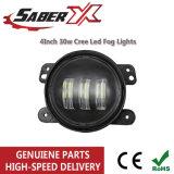 4 pouces de 30W CREE LED pour la voiture de feux de brouillard de Jeep Wrangler Dodge Chrysler