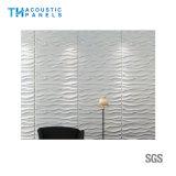 Panneau 3D insonorisant décoratif intérieur de fibre de polyester de Retartant de flamme pour le panneau de mur