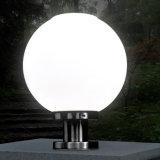 Im Freien i-Watt-Licht-Fühler-Kugel-Form-Solarpfosten-Gatter-Lampe für Gatter-Garten-Hof-Dekoration imprägniern