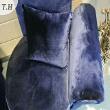 Tessuto italiano lucido del velluto per il sofà