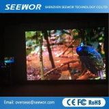 Peso p4.81mm LED em Cores no exterior da parede de vídeo para bicicleta