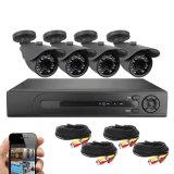 4CH sistema della videocamera di sicurezza del CCTV dei kit HD del CCTV Ahd DVR