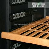 Refrigerador de vino dual incorporado del acero inoxidable de la visualización de LED de Shenzhen de la zona de la venta caliente