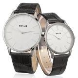 El par de la promoción mira el reloj de las señoras de la manera (WY-1065GD)