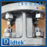 ChainwheelsのDidtek 100%テストステンレス鋼の蝶弁