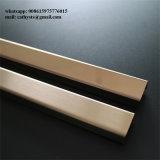 Aço inoxidável Alimentação Foshan U Perfil Canal acabamento cor de bronze do Espelho