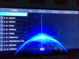 M3u viven los canales 1+8GB de IPTV 3000+ con el rectángulo superior determinado del androide 6.0 de WiFi con el vídeo 4K*2K del H. 265